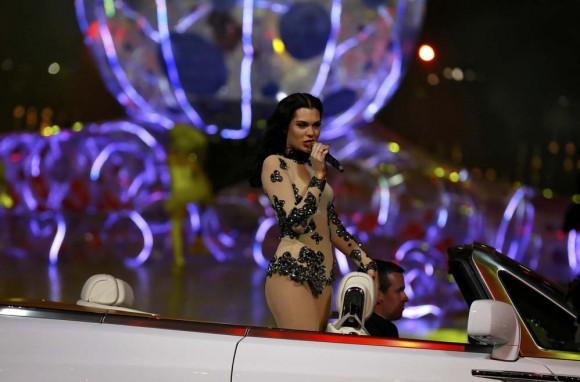La cantante Jessie J. Foto: Reuters