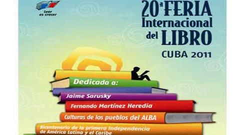 Feria Cubana del Libro, cartel.