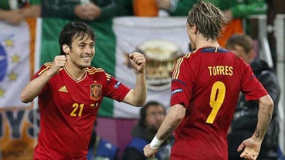 Eurocopa: España supera a Irlanda. (Foto: AP)