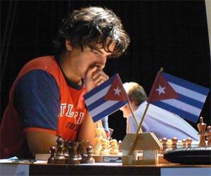 Ajedrecista cubano Lázaro Bruzón