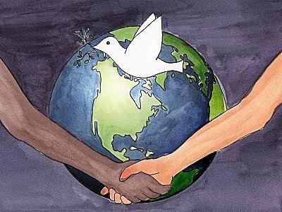 Paz mundial, salvemos el planeta