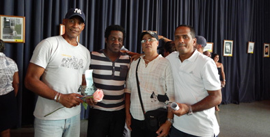 De izquierda a derecha: Laz, Kike Quiñones, Jape y Adán. Foto: Julieta García Ríos