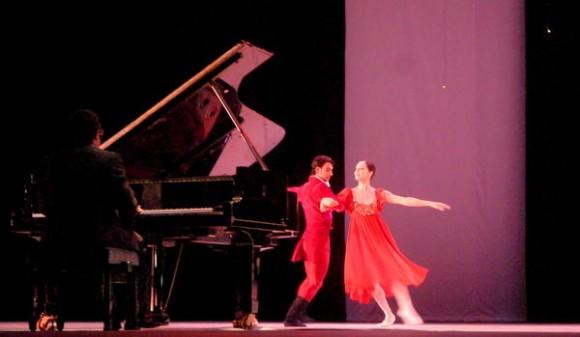 Presentación del ballet,