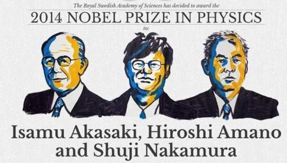 premios nobel de física 2014