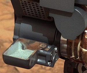 Polvo de rocas en Marte. Foto: Reuters/NASA.