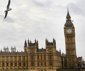 El Big Ben, en Londres