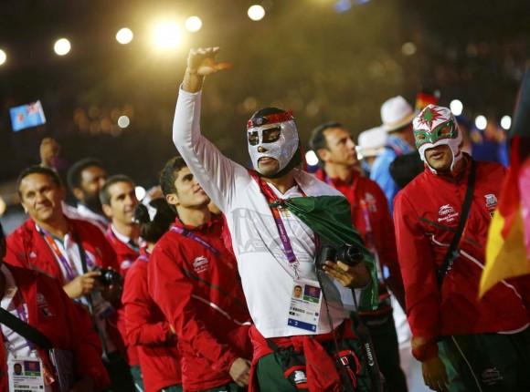 El atleta mexicano Erick Osoio Núñez, de Taekwondo. Foto: Reuters