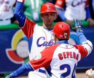 Cuba Béisbol Cepeda y Yuliesky