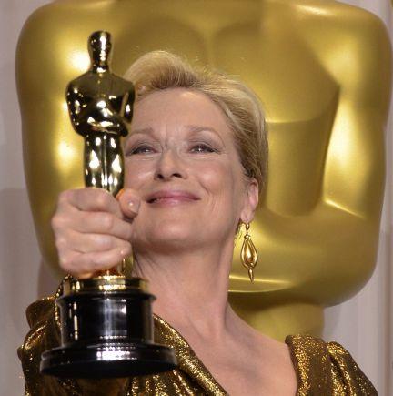 Meryl Streep se llevó su tercer Oscar