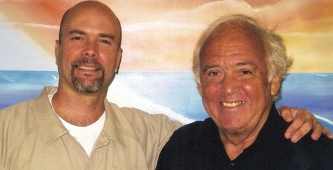 El abogado Martin Garbus y Gerardo Hernández (izquierda).