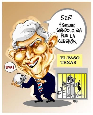Caricatura de Posada Carriles