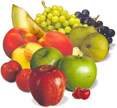 Las frutas son fuentes de vitaminas