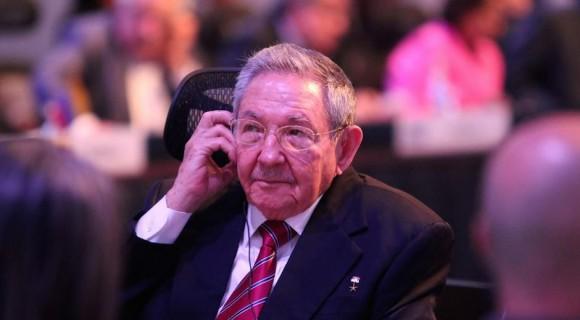 Raúl Castro en la III Cumbre de CELAC, en Costa Rica. Foto: EFE