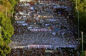 Primero de Mayo en La Habana. Foto de Archivo: Ismael Francisco