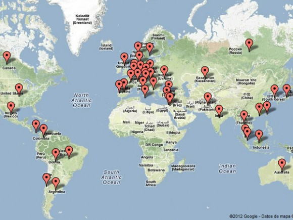 Países donde ha estado bloqueando google a los internautas por presiones de los gobiernos.
