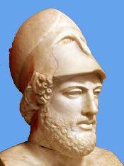 El estratega Pericles fue incansable defensor de la democracia ateniense.