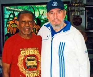 Una foto reciente de Lucius y Fidel.