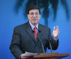 Bruno Rodríguez. Foto: Ismael Francisco/ Cubadebate