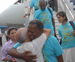 Arribó a Cuba la Caravana de la Amistad. Foto: Marcelino VAZQUEZ HERNANDEZ / AIN