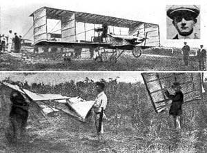 Primer vuelo de André Bellot. (Cubaperiodistas)