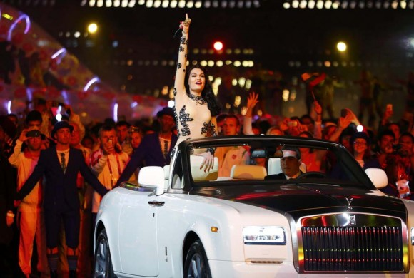 La cantante Jessie J. en