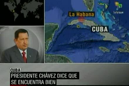 Chávez en declaraciones a Telesur