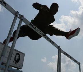 Dayron Robles, una de las principales figuras del atletismo cubano