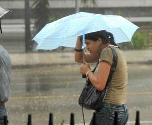 CUBA- LLUVIAS INTENSAS EN CIUDAD DE LA HABANA