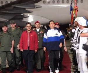 Chávez en Venezuela
