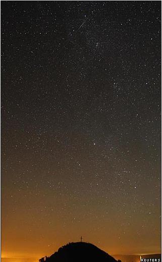 El fenómeno es observable sobre todo en el hemisferio norte, como prueba esta foto tomada a 30 kilómetros al norte de Viena, Austria.